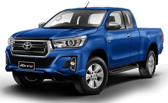 Toyota Hilux Revo Smart Cab 2018 in Nebura Blue