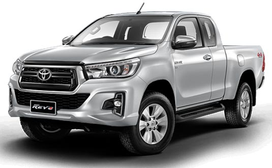 Toyota Hilux Revo Smart Cab 2018 in Silver Metallic