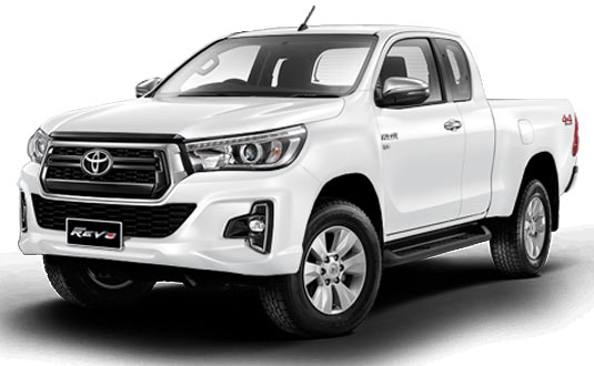 Toyota Hilux Revo Smart Cab 2018 in Super White