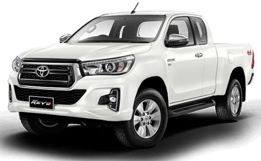 Toyota Hilux Revo Smart Cab 2019 in White Pearl Crystal Shine