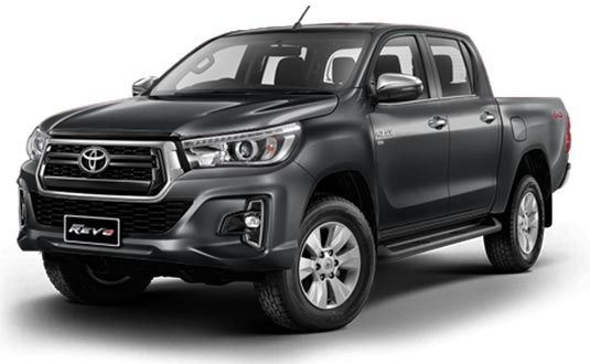 Toyota Hilux Revo Double Cab 2018 in Dark Grey Metallic