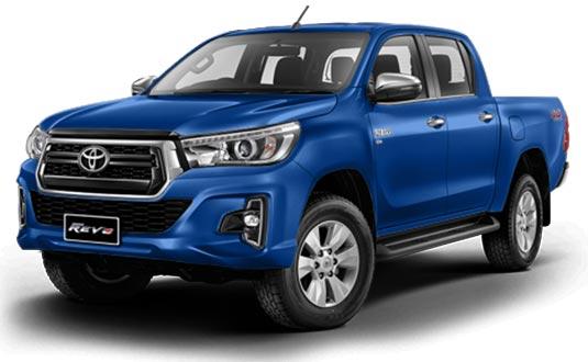 Toyota Hilux Revo Double Cab 2018 in Nebura Blue