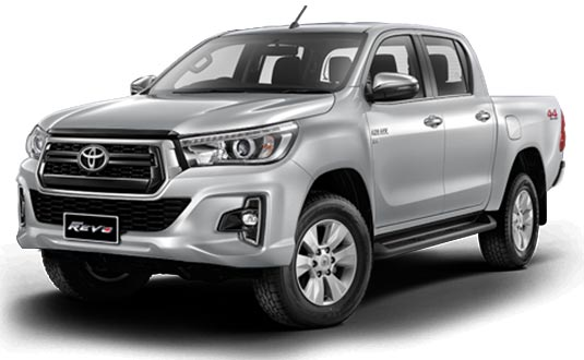 Toyota Hilux Revo Double Cab 2018 in Silver Metallic