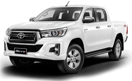 Toyota Hilux Revo Double Cab 2018 in Super White