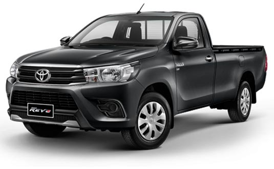 Toyota Hilux Revo Standard Cab 2019 in Dark Grey Metallic