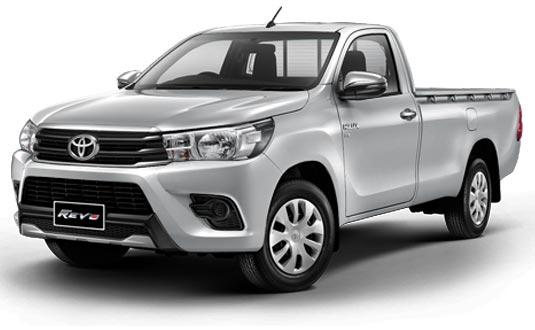 Toyota Hilux Revo Standard Cab 2018 in Silver Metallic