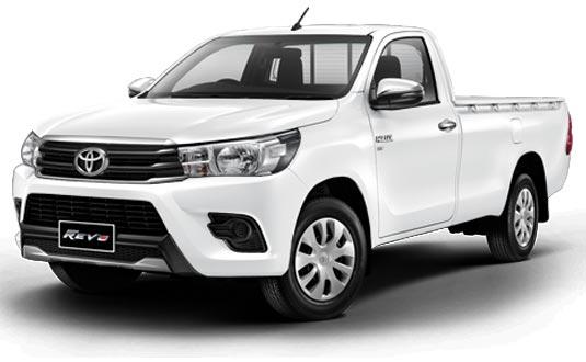 Toyota Hilux Revo Standard Cab 2018 in Super White