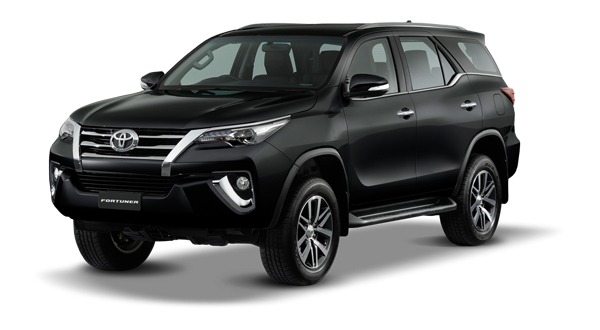 Toyota Fortuner 2018 in Attitude Black Mica