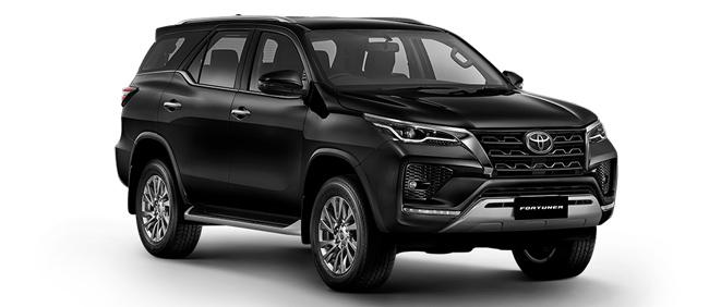 Toyota Fortuner 2021 in Attitude Black Mica
