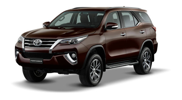 Toyota Fortuner 2018 in Brown