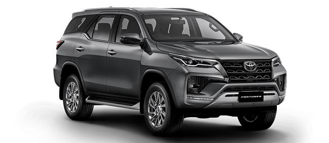 Toyota Fortuner 2021 in Dark Grey Metallic