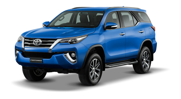 Toyota Fortuner 2018 in Nebura Blue