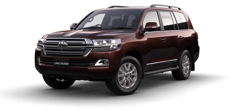 Toyota Land Cruiser - Diesel 2018 in Copper Brown