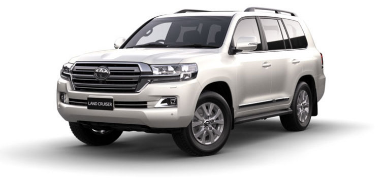 Toyota Land Cruiser - Diesel 2018 in Crystal Pearl