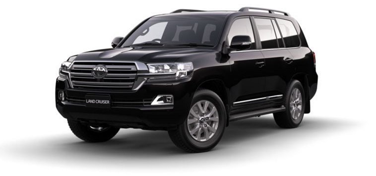 Toyota Land Cruiser - Diesel 2018 in Ebony