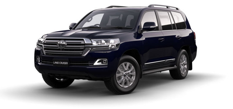 Toyota Land Cruiser - Diesel 2018 in Onyx Blue