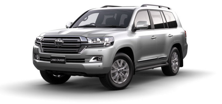 Toyota Land Cruiser - Diesel 2018 in Silver Pearl