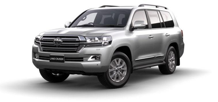 Toyota Land Cruiser - Diesel 2018 in Silver Pearl