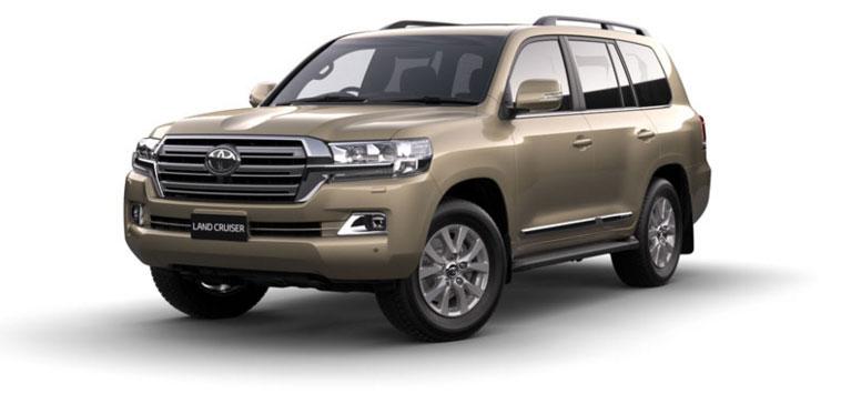 Toyota Land Cruiser - Diesel 2018 in Vintage Gold