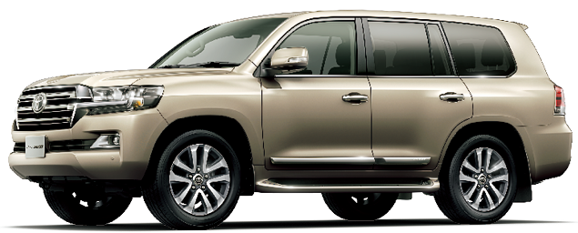Toyota Land Cruiser 2018 in Beige Mica Metallic