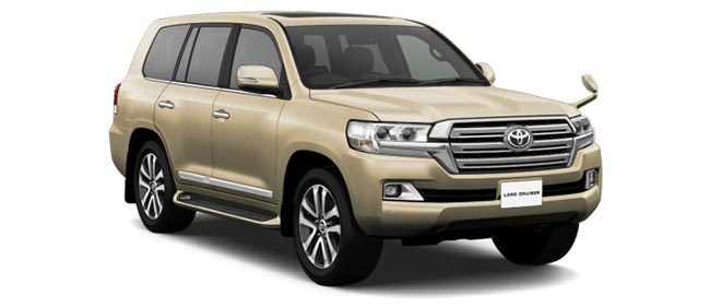 Toyota Land Cruiser 2019 in Beige Mica Metallic