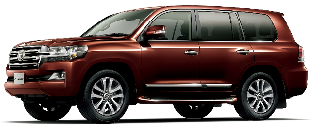 Toyota Land Cruiser 2018 in Copper Brown Mica