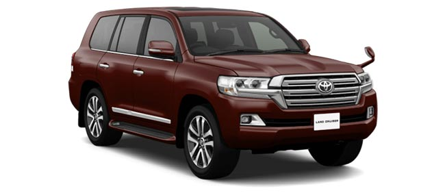 Toyota Land Cruiser 2019 in Copper Brown Mica
