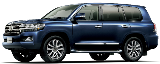 Toyota Land Cruiser 2018 in Dark Blue Mica