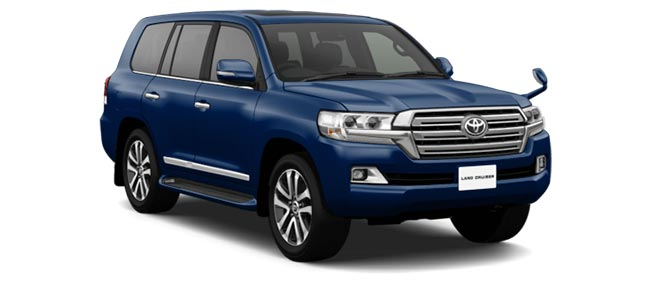 Toyota Land Cruiser 2019 in Dark Blue Mica