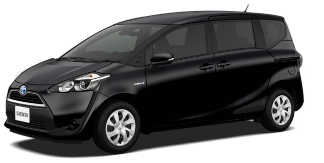 Brand New Toyota Sienta Hybrid For Sale Japanese Cars
