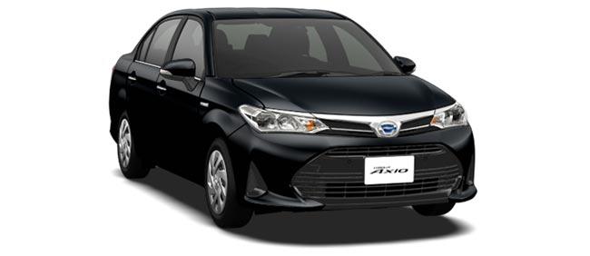 Toyota Corolla Axio 2018 in Black Mica