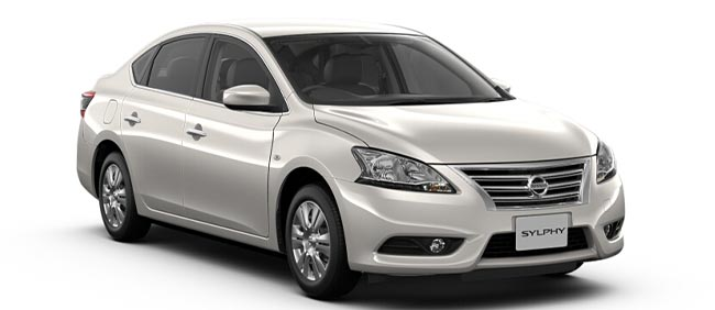 Brand New Nissan Bluebird Sylphy Brilliant White Pearl