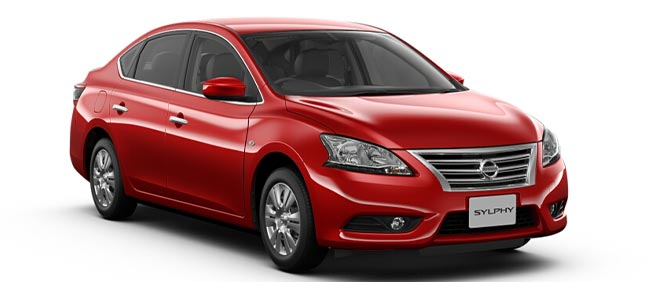 Brand New Nissan Bluebird Sylphy Radiant Red