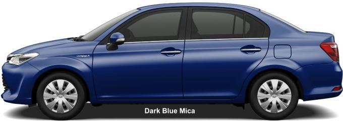 Toyota Corolla Axio 2019 in Dark Blue Mica