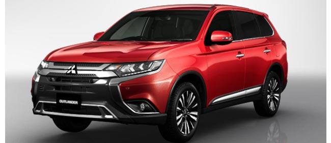 Mitsubishi Outlander 2020 in Red Metallic