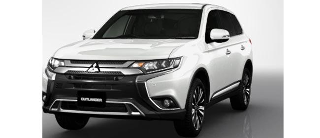 Mitsubishi Outlander 2020 in White Pearl