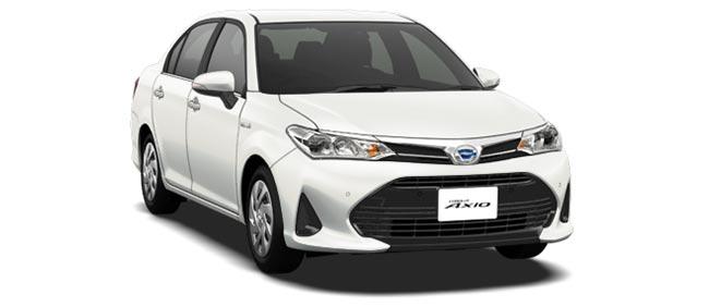 Toyota Corolla Axio 2018 in White Pearl Crystal Shine