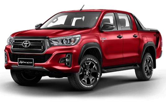 Brand New Toyota Hilux Revo Rocco Double Cabin for Sale | Japanese Cars Exporter