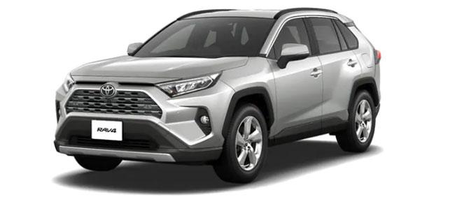 Toyota Rav4 2021 in Silver Metallic