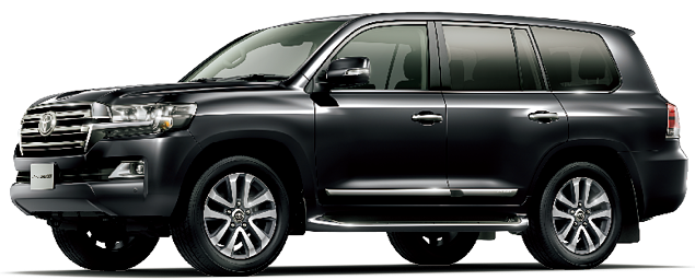 Toyota Land Cruiser 2018 in Black