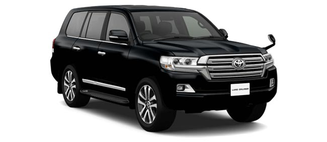 Toyota Land Cruiser 2019 in Black