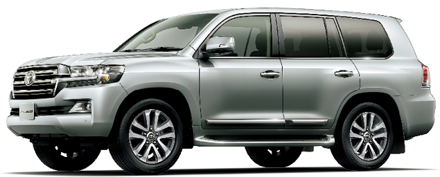 Toyota Land Cruiser 2018 in Silver Metallic