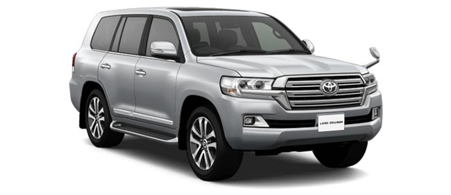 Toyota Land Cruiser 2019 in Silver Metallic