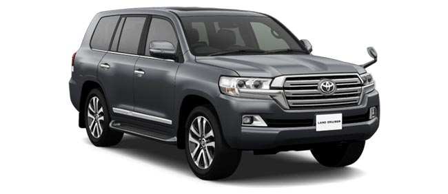 Toyota Land Cruiser 2019 in Grey Metallic