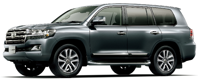Toyota Land Cruiser 2018 in Grey Metallic