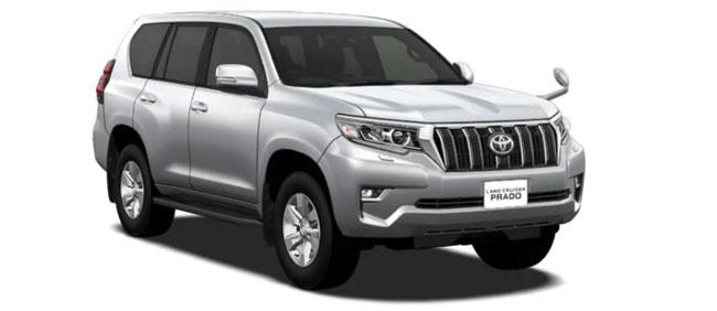 Toyota Land Cruiser Prado 2021 in Silver Metallic