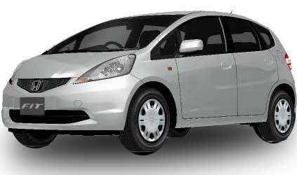 Honda Fit 2018 in Alabaster Silver Metallic