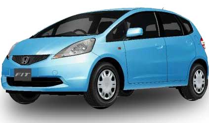 Honda Fit 2018 in Azul Blue