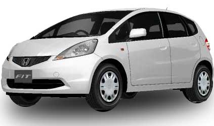 Honda Fit 2018 in Taffeta White