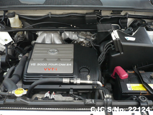 2001 Toyota / Kluger Stock No. 22124